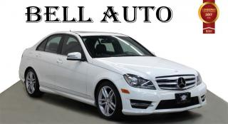 Used 2013 Mercedes-Benz C-Class 300 4MATIC MEMORY SEAT LEATHER SUNROOF for sale in North York, ON