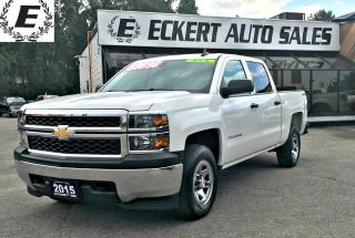 Used 2015 Chevrolet Silverado 1500 LS CREW CAB 4X4 /REVERSE CAMERA for sale in Barrie, ON