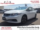 Used 2013 Honda Civic EX | REAR-VIEW CAMERA | HEATED SEATS!! for sale in Scarborough, ON