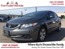 Used 2013 Honda Civic LX | BLUETOOTH | MINT CONDITION for sale in Scarborough, ON