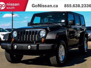 Used 2011 Jeep Wrangler Unlimited AUTO, AIR, 4X4 for sale in Edmonton, AB
