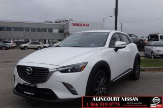 Used 2016 Mazda CX-3 GT |Leather|Navi|Heads up Display| for sale in Scarborough, ON
