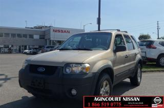 Used 2007 Ford Escape XLT |AS-IS SUPER SAVER| for sale in Scarborough, ON