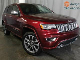 Used 2017 Jeep Grand Cherokee OVERLAND 4X4 for sale in Edmonton, AB