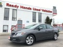 Used 2013 Honda Civic LX - Auto - Bluetooth for sale in Mississauga, ON