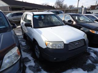 Used 2006 Subaru Forester 2.5X for sale in Sarnia, ON
