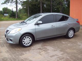 Used 2013 Nissan Versa Sedan SV for sale in Sundridge, ON