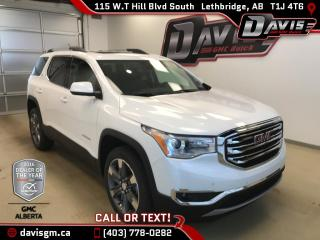 New 2017 GMC Acadia SLT-2-AWD-6 Passenger, Skyscape Sunroof, Navigation, Heated Leather for sale in Lethbridge, AB