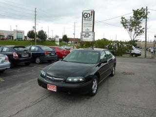 Used 2004 Chevrolet Impala LOW MILEAGE for sale in Kitchener, ON