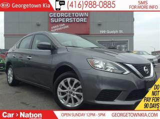 Used 2016 Nissan Sentra 1.8 SV | SUNROOF | BACK UP CAM | CLEAN CARPROOF for sale in Georgetown, ON