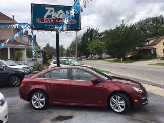 Used 2015 Chevrolet Cruze 2LT RS for sale in Dunnville, ON