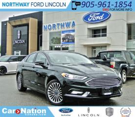 Used 2017 Ford Fusion SE |AWD | NAV | SUNROOF | LEATHER | for sale in Brantford, ON