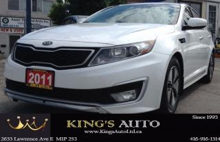 Used 2011 Kia Optima Hybrid for sale in Scarborough, ON
