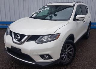 Used 2016 Nissan Rogue SL AWD *LEATHER-SUNROOF* for sale in Kitchener, ON
