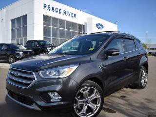 Used 2017 Ford Escape Titanium for sale in Peace River, AB