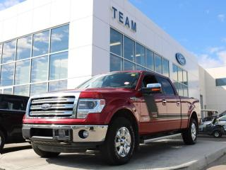 Used 2013 Ford F-150 Lariat, 3.5L Ecoboost, HID Headlights, Chrome Package, 6.5' Box, Max Trailer Tow for sale in Edmonton, AB