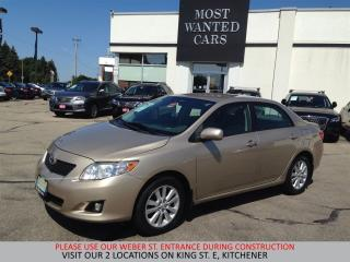 Used 2009 Toyota Corolla LE | ALLOYS | FOG | PUSH START for sale in Kitchener, ON