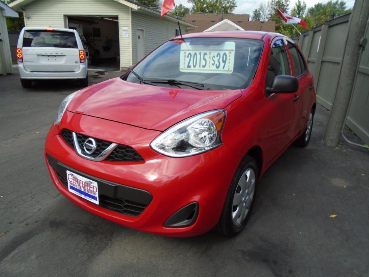 "2015 Nissan Micra SV ""Internet Sale"" $500 Rebate"