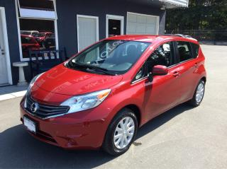 Used 2014 Nissan Versa Note SV for sale in Parksville, BC