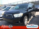 Used 2008 Toyota Highlander V6 Limited*Accident Free*Leather for sale in Ajax, ON