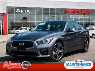 Used 2014 Infiniti Q50 Sport*Nav*Bluetooth*Heated Seats*Back Up Cam for sale in Ajax, ON