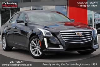 Used 2017 Cadillac CTS 2.0L Turbo LEATHER REAR CAMERA REMOTE STARTER for sale in Pickering, ON