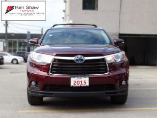 Used 2015 Toyota Highlander Hybrid LIMITED HYBRID for sale in Toronto, ON