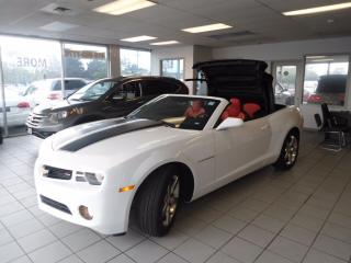 Used 2013 Chevrolet Camaro LIKE NEW LOW KM 1 OWNER NO ACCIDENT  CONV LEATHER for sale in Oakville, ON