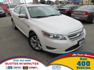 Used 2012 Ford Taurus SEL | AWD | LEATHER | SUNROOF | BACKUP CAM for sale in London, ON