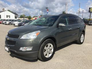 Used 2011 Chevrolet TRAVERSE LT1 * AWD * REAR CAM * 8 PASS * REAR PARKING SENSORS * PREMIUM CLOTH SEATING for sale in London, ON