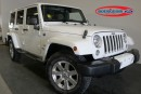 Used 2016 Jeep Wrangler Unlimited SAHARA 3.6L 6CYL for sale in Midland, ON