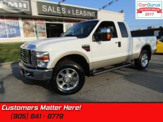 Used 2009 Ford F-250 Super Duty Lariat   DIESEL, 4X4, LEATHER, HEATED POWER SEATS for sale in St Catharines, ON