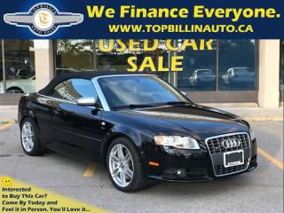 Used 2009 Audi S4 4.2 Convertible, 2 YEARS WARRANTY for sale in Concord, ON