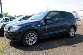 Used 2014 BMW X3 xDrive28i Navigation Low milea for sale in Winnipeg, MB