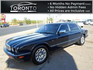 Used 2002 Jaguar XJ8 Vanden Plas+Good Condition+V8 4.0L+Good Condition for sale in North York, ON