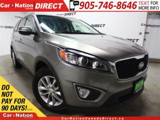Used 2016 Kia Sorento 2.4L LX| BACK UP SENSORS| HEATED SEATS| for sale in Burlington, ON