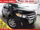 Used 2014 Ford Edge SEL| LEATHER| DUAL SUNROOF| NAVI| for sale in Burlington, ON