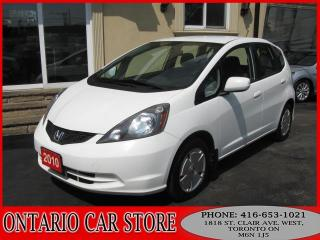 Used 2010 Honda Fit LX !!!1 OWNER NO ACCIDENTS!!! for sale in Toronto, ON