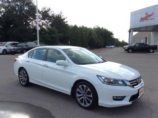 Used 2013 Honda Accord Sedan Sport..New tires, new brake all around for sale in Milton, ON