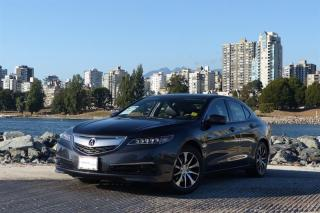 Used 2015 Acura TLX 2.4L P-AWS w/Tech Pkg *Local Vehicle - Navigation!* for sale in Vancouver, BC