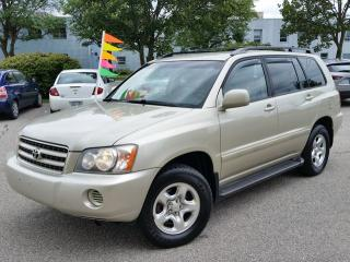 Used 2003 Toyota Highlander 4WD for sale in Cambridge, ON
