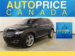 Used 2013 Lincoln MKX NAVIGATION PANORAMIC ROOF LEATHER for sale in Mississauga, ON