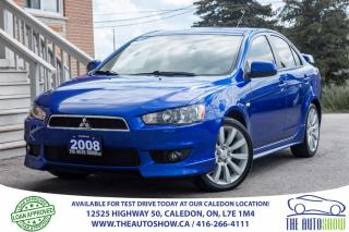 Used 2008 Mitsubishi Lancer GTS | NO ACCIDENT | ONE OWNER for sale in Caledon, ON