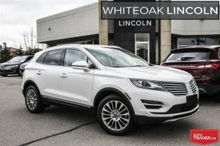 Used 2015 Lincoln MKC 30000KM AWD, 2.0L, ROOF, NAV, BLIS for sale in Mississauga, ON