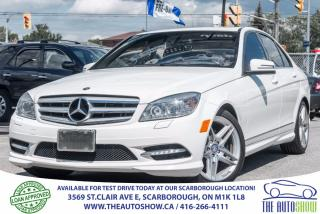 Used 2011 Mercedes-Benz C 300 4MATIC AWD AMG Sport for sale in Caledon, ON