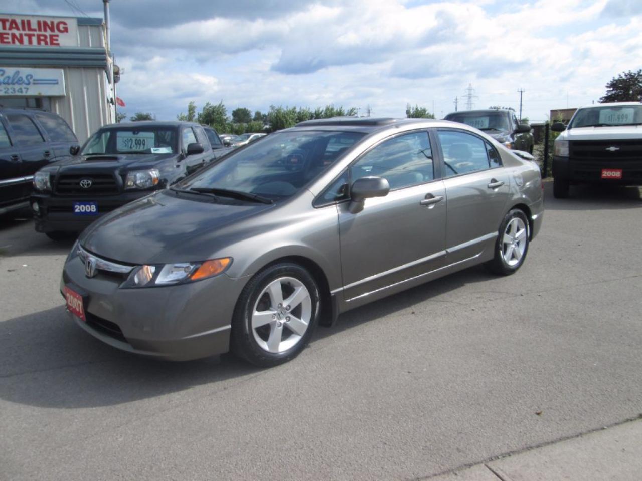 Photo of Gray 2007 Honda Civic