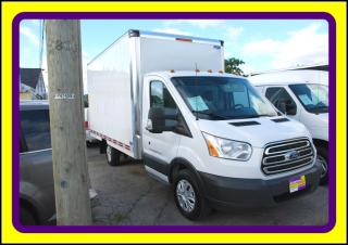 Used 2015 Ford Transit 14 FT CUBE VAN 3.2L5 T.DIESEL LOADED for sale in Woodbridge, ON