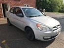 Used 2009 Hyundai Accent SAFETY & WARRANTY INCLUDED for sale in Cambridge, ON