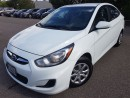 Used 2013 Hyundai Accent GL-EXCELLENT SERVICE RECORDS for sale in Mississauga, ON