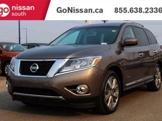 Used 2014 Nissan PATHFINDER HYBRID NAVIGATION, DVD, LEATHER!! for sale in Edmonton, AB